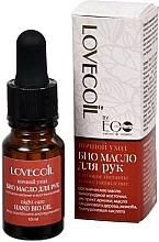 Düfte, Parfümerie und Kosmetik Pflegendes und regenerierendes Bio Handöl - ECO Laboratorie Lovecoil Night Care Hand Bio-Oil