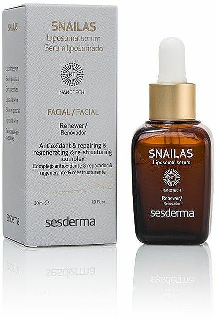 Liposomales Gesichtsserum - SesDerma Laboratories Snailas Liposomal serum — Bild N1
