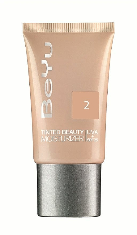 Feuchtigkeitsspendende getönte Creme mit LSF 25 - BeYu Tinted Beauty Moisturizer