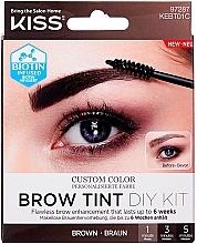 Düfte, Parfümerie und Kosmetik Augenbrauentinte - Kiss Brow Tint DIY Kit