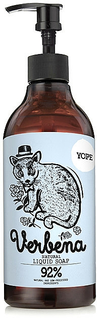 Flüssigseife - Yope Verbena Natural Liquid Soap