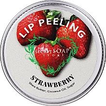 Düfte, Parfümerie und Kosmetik Lippenpeeling mit Sheabutter, Kokosnussöl und Zucker - The Secret Soap Store Lip Scrub