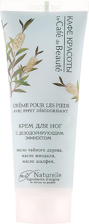 Fußcreme-Deodorant - Le Cafe de Beaute Foot Cream