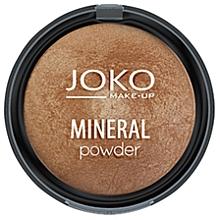 Düfte, Parfümerie und Kosmetik Gebackener Mineralpuder - Joko Mineral Powder