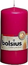 Düfte, Parfümerie und Kosmetik Stumpenkerze Fuchsia 120x58 mm - Bolsius Candle