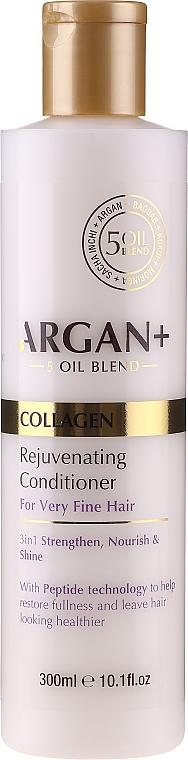 Revitalisierender Conditioner mit Kollagen - Argan+ Collagen Rejuvenating Conditioner — Bild N1