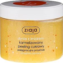 Düfte, Parfümerie und Kosmetik Karamelisiertes Zuckerpeeling für Körper mit Kürbis und Ingwer - Ziaja Sugar Body Peeling
