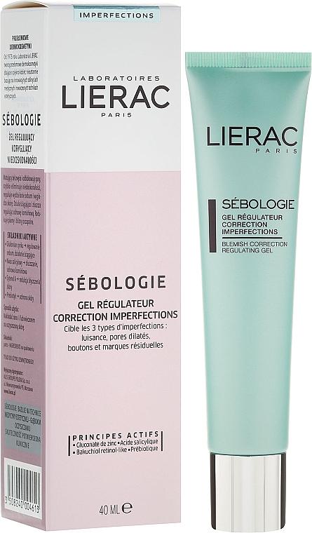 Regulierendes und mattierendes Gesichtsgel - Lierac Sebologie Regulating Gel