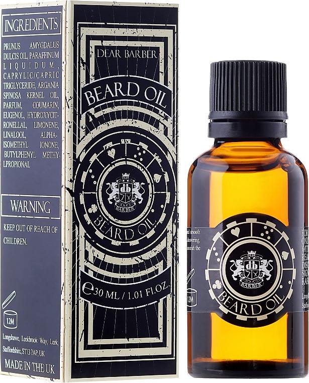 Pflegendes Bartöl - Dear Barber Beard Oil — Bild N1