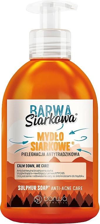 Anti-Akne Schwefel-Flüssigseife - Barwa Siarkowa Sulphuric Liquid Soap Anti-Acne