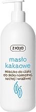 Düfte, Parfümerie und Kosmetik Körpermilch mit Kakaobutter - Ziaja Milk Body