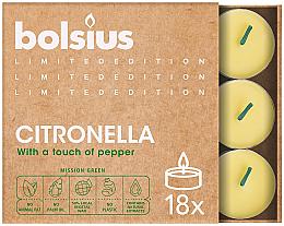 Düfte, Parfümerie und Kosmetik Duftkerze Citronella - Bolsius Scented Lights Divine Earth Citronella