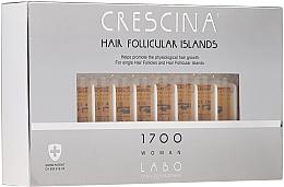 Düfte, Parfümerie und Kosmetik Haarwuchs stimulierende Lotion in Ampullen für Frauen 1700 - Crescina Hair Follicular Islands Re-Growth