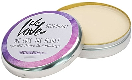 Düfte, Parfümerie und Kosmetik Natürliche Deo-Creme mit Lavendel - We Love The Planet Deodorant Lovely Lavender