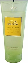 Düfte, Parfümerie und Kosmetik Maurer & Wirtz 4711 Aqua Colognia Lemon & Ginger - Duschgel
