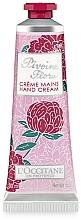 Düfte, Parfümerie und Kosmetik Handcreme - L'Occitane Pivoine Flora Hand Cream