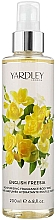 Düfte, Parfümerie und Kosmetik Yardley English Freesia Body Mist - Feuchtigkeitsspendender parfümierter Körpernebel