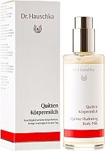 Düfte, Parfümerie und Kosmetik Feuchtigkeitsspendende Körpermilch mit Quittenextrakt - Dr. Hauschka Quince Hydrating Body Milk
