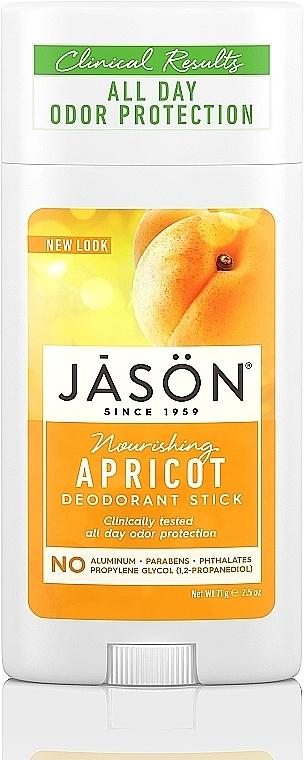 Deostick mit Aprikosenkernöl - Jason Natural Cosmetics Pure Natural Deodorant Stick Apricot