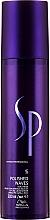 Düfte, Parfümerie und Kosmetik Stylingcreme für lockiges und welliges Haar starker Halt - Wella Sp Polished Waves Curls Cream With Hold