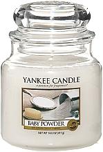Düfte, Parfümerie und Kosmetik Duftkerze im Glas Baby Powder - Yankee Candle Baby Powder Jar