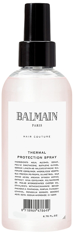 Pflegendes Hitzeschutzspray - Balmain Paris Hair Couture Thermal Protection Spray