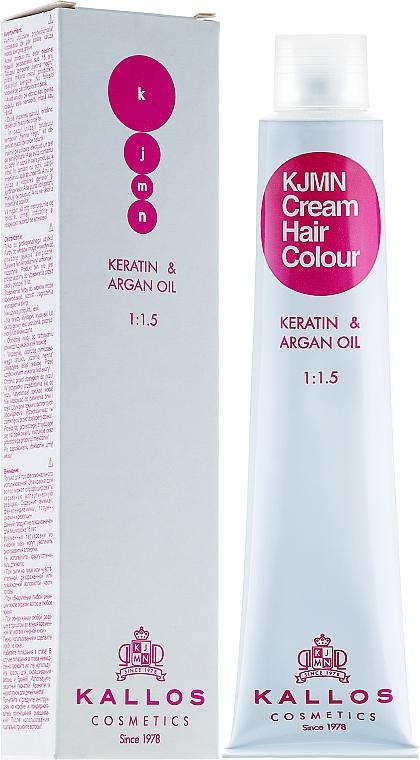 Professionelle Cremehaarfarbe mit Keratin und Arganöl - Kallos Cosmetics Cream Hair Colour
