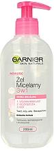 Düfte, Parfümerie und Kosmetik 3in1 Mizellen-Reinigungsgel für empfindliche Haut - Garnier Skin Naturals Cleansing Micellar Gel