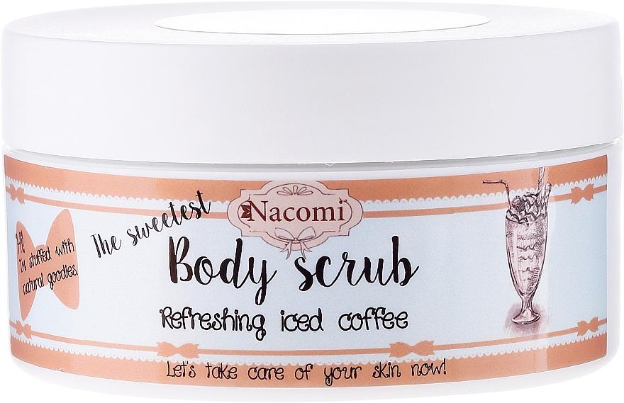 Zucker-Körperpeeling mit erfrischendem Eiskaffee - Nacomi Body Scrub Refreshing Iced Coffee