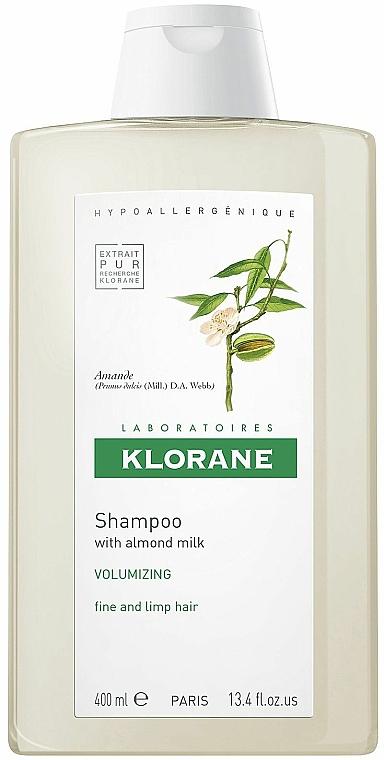 Shampoo mit Mandelmilch für mehr Volumen - Klorane Volumising Shampoo with Almond Milk