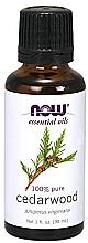 Düfte, Parfümerie und Kosmetik Ätherisches Öl Zedernholz - Now Foods Essential Oils 100% Pure Cedarwood