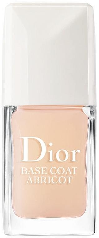 Schützender und kräftigender Nagelunterlack - Dior Base Coat Abricot