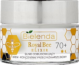 Düfte, Parfümerie und Kosmetik Aufbauendes Anti-Falten Creme-Konzentrat für das Gesicht mit Gelée Royale und Manuka-Honig - Bielenda Royal Bee Elixir 70+ Cream Concentrate