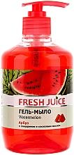"""Düfte, Parfümerie und Kosmetik Flüssigseife mit Glycerin """"Wassermelone"""" - Fresh Juice Watermelon"""