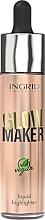 Düfte, Parfümerie und Kosmetik Flüssiger Highlighter - Ingrid Cosmetics Glow Maker Bali Vegan Highlighter
