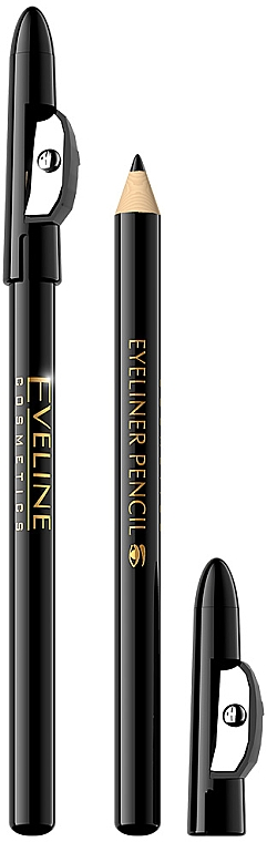 Kajalstift mit Anspitzer - Eveline Cosmetics Eyeliner Pencil