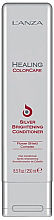 Düfte, Parfümerie und Kosmetik Silber-Tönungsspülung gegen Gelbstich - L'anza Healing ColorCare Silver Brightening Conditioner