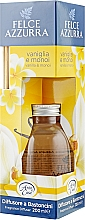 Düfte, Parfümerie und Kosmetik Aroma-Diffusor mit Duftholzstäbchen Vanille und Monoi - Felce Azzurra Vanilla