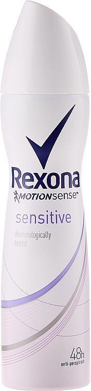 Deospray Antitranspirant - Rexona MotionSense Sensitive 48h