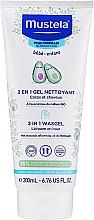 Düfte, Parfümerie und Kosmetik 2in1 Reinigungsgel für Haar und Körper mit Avocado - Mustela Baby 2 In 1 Cleansing Gel With Avocado Hair And Body