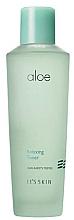 Düfte, Parfümerie und Kosmetik Beruhigender Gesichtstoner mit Aloe Vera-Extrakt - It's Skin Aloe Relaxing Toner