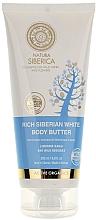 Düfte, Parfümerie und Kosmetik Sibirische weiße Anti-Cellulite Körperbutter - Natura Siberica
