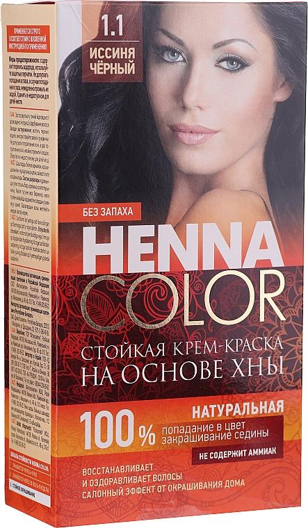 Ammoniakfreie dauerhafte Henna-Haarfarbe - Fito Kosmetik Henna Color