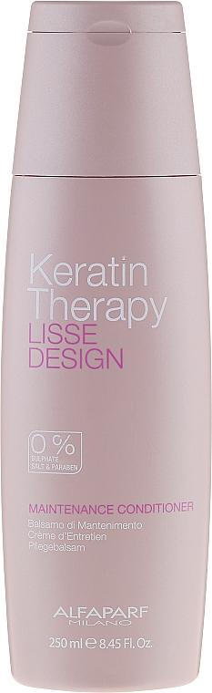 Haarspülung mit Keratin - Alfaparf Lisse Design Keratin Therapy Maintenance Conditioner