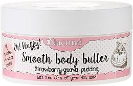 Düfte, Parfümerie und Kosmetik Körperbutter mit Erdbeere und Guave - Nacomi Smooth Body Butter Strawberry-Guawa Pudding