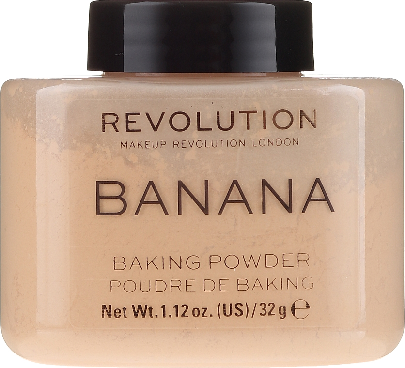 Bananen-Puder - Makeup Revolution Banana Baking Powder
