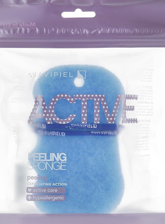 Peelingschwamm blau - Suavipiel Active Esponja Peeling
