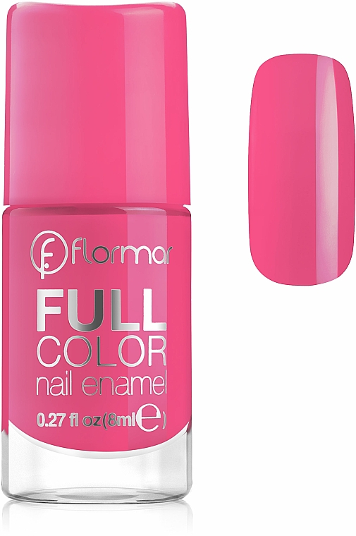 Nagellack - Flormar Full Color Nail Enamel