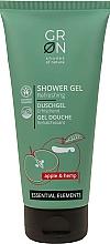 Düfte, Parfümerie und Kosmetik Erfrischendes Duschgel mit Apfel und Hanf - GRN Essential Elements Apple&Hemp Shower Gel