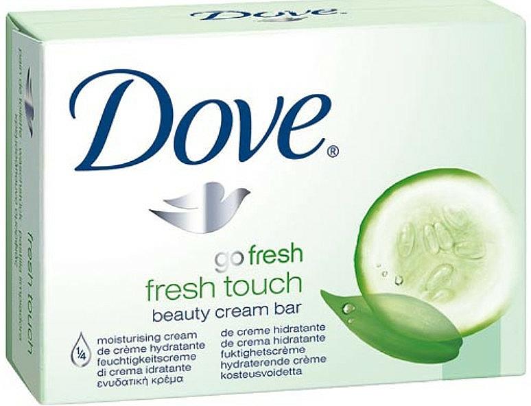Cremeseife mit grünem Tee- und Gurkenduft - Dove Go Fresh Fresh Touch Cream Bar With Cucumber & Green Tea Scent